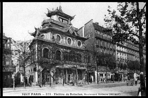 Das Bataclan um 1909, ©unbekannt, gemeinfrei