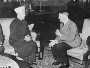 Amin al-Husseini, Großmufti von Jerusalem, bei Adolf Hitler am 9. Dezember 1941