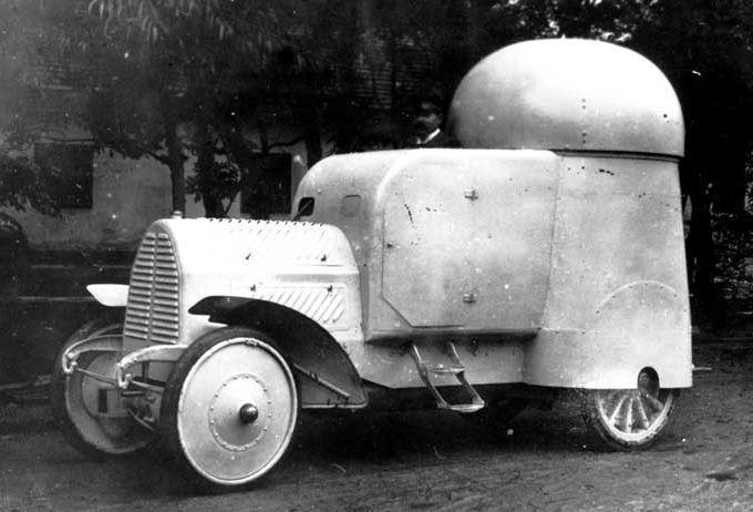 Austro-Daimler Panzerwagen, 1906