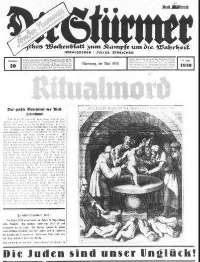 Stürmer-Sondernummer vom Mai 1939