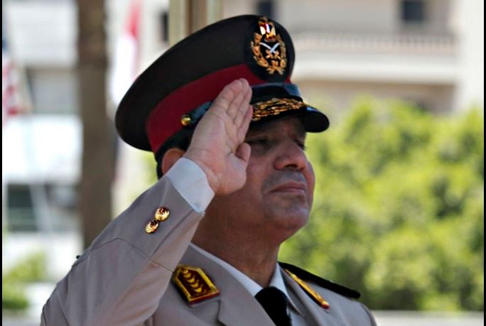 Egyptian Minister of Defense Abdel Fatah Al Sisi CC BY 2.0